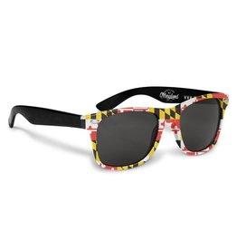 MarylandMyMaryland Maryland Flag Sunglasses