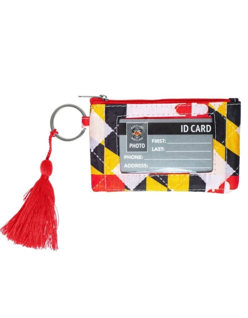 MarylandMyMaryland Maryland Flag Quilt Wallet