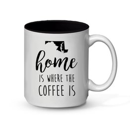 MarylandMyMaryland Home Is Where The Coffee Is Mug