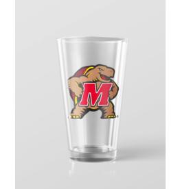Route One Apparel University of MD Testudo Pint Glass
