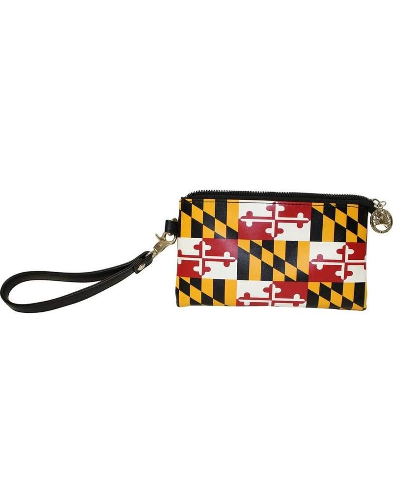 Route One Apparel Maryland Flag Wristlet