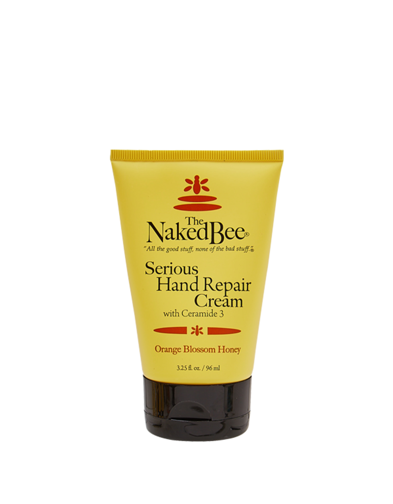 The Naked Bee Serious Hand Repair Cream In Orange Blossom Honey 3.25oz