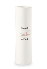 Mud Pie 'Best Teacher Ever' Stem Vase