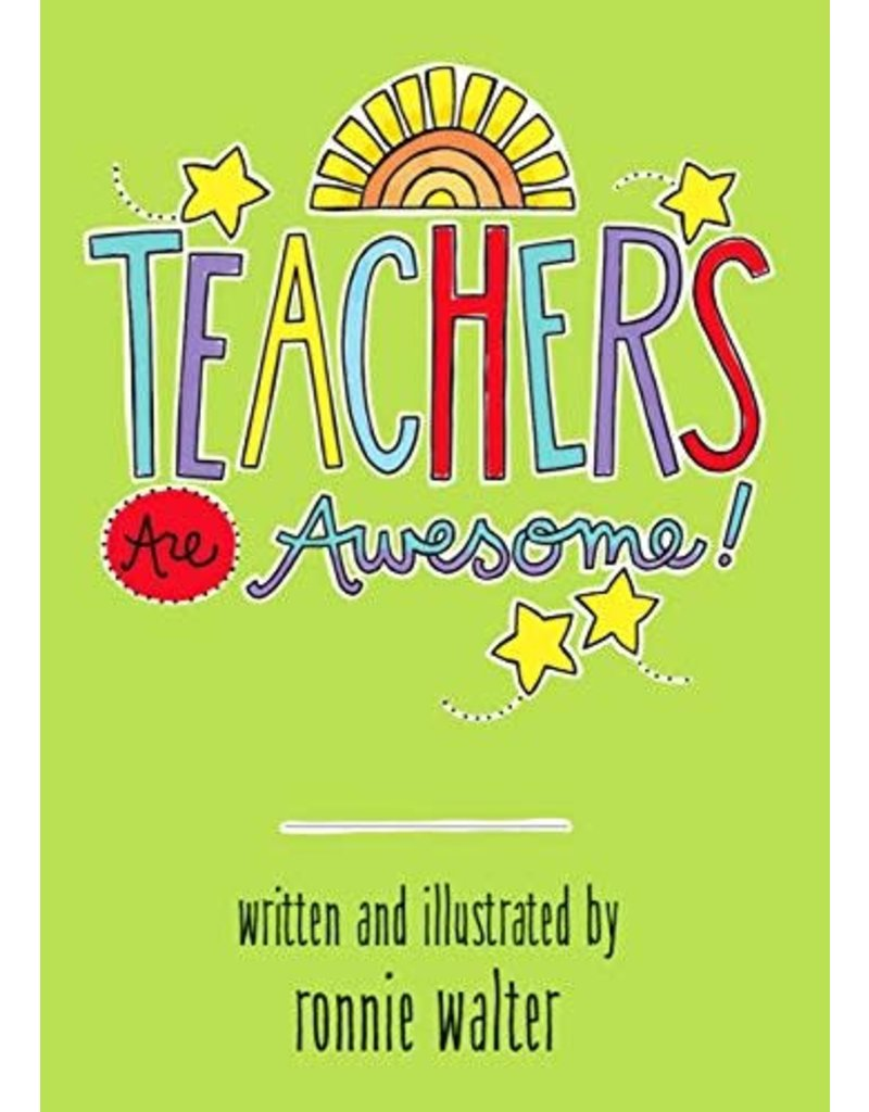 Blue Mountain Arts Teachers Are Awesome Book