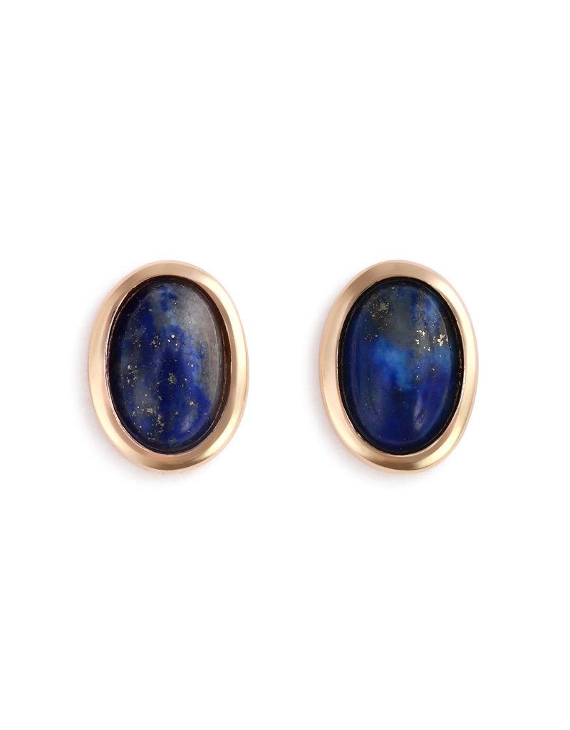Demdaco Lapis Giving Earrings - Gold