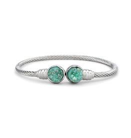 Demdaco Druzy Birthstone Bracelet- May