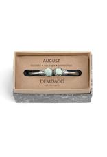Demdaco Druzy Birthstone Bracelet -August