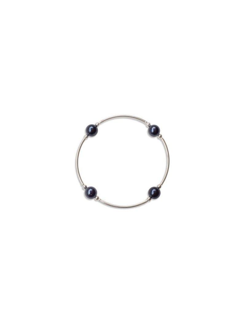 MAI Apparel 8mm Swarovski Pearl - Midnight Blue