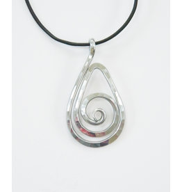 The Artist Jay Teardrop Pendant