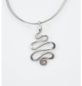 The Artist Jay Squiggle Pendant