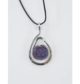 The Artist Jay Plum Open Teardrop Pendant