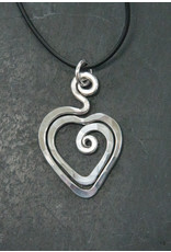 The Artist Jay Petite Heart Pendant