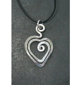The Artist Jay Petite Heart Pendant
