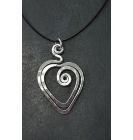 The Artist Jay Heart Pendant