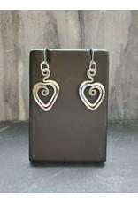 The Artist Jay Petite Heart Earrings