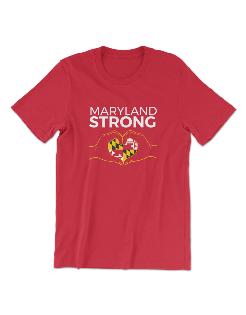 Route One Apparel Maryland Strong Shirt