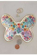 Natural Life Butterfly Trinket Bowl