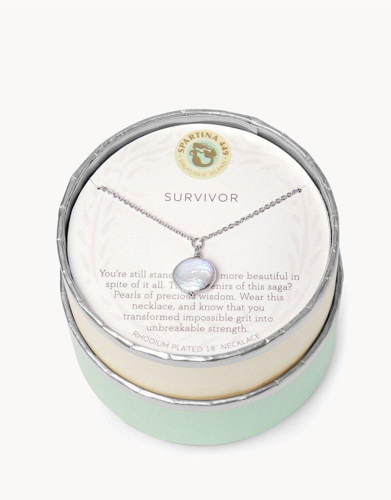 Spartina Sea La Vie Survivor Necklace