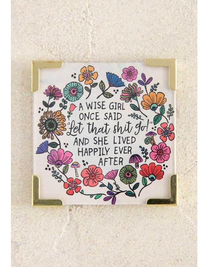 Natural Life A Wise Girl Corner Magnet