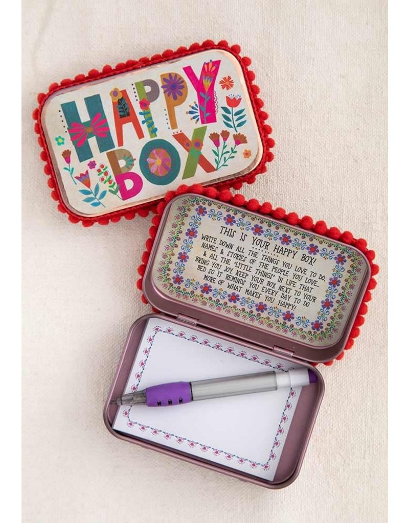 Natural Life Happy Prayer Box
