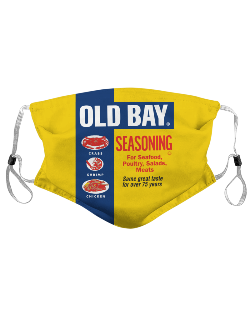Route One Apparel Old Bay Can Face Mask