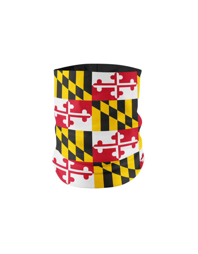 Route One Apparel Maryland Flag Neck Gaiter