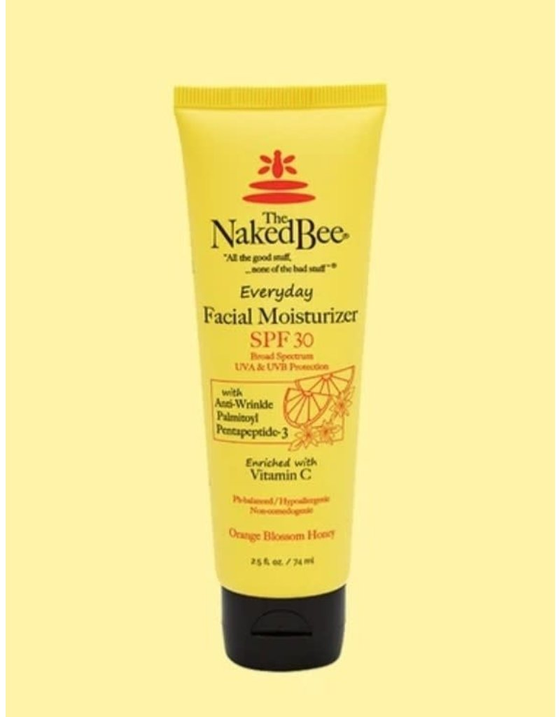 The Naked Bee 2.5 oz Orange Blossom Vitamin C Facial Moisturizer SPF 30