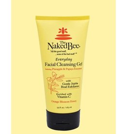 The Naked Bee 5.5 oz Orange Blossom Honey Facial Cleansing Gel