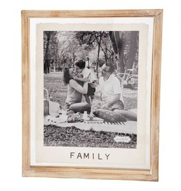 8x10 Family Glass Frame