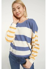 Z Supply Grace Stripe Long Sleeve Shirt