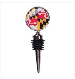 MarylandMyMaryland Maryland Flag Wine Stopper