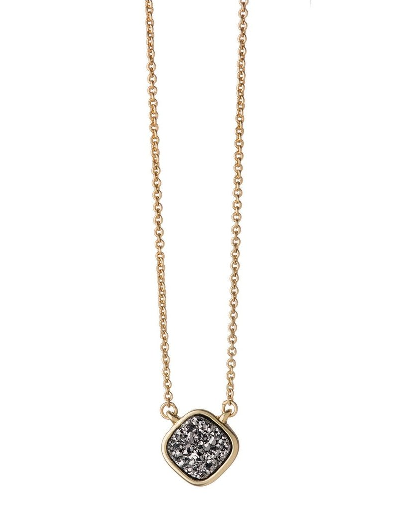 Spartina 449 Sea La Vie Platinum Druzy Necklace