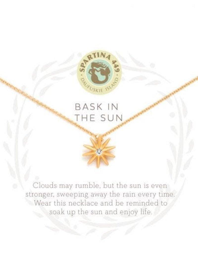 Spartina 449 Sea La Vie Bask In The Sun Necklace - Gold