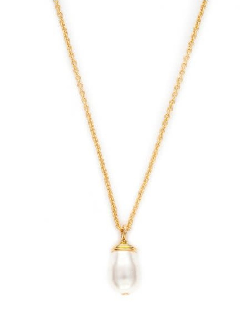 Spartina 449 Sea La Vie Find Peace Necklace - Gold