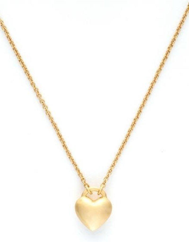 Spartina 449 Sea La Vie Love Necklace - Gold