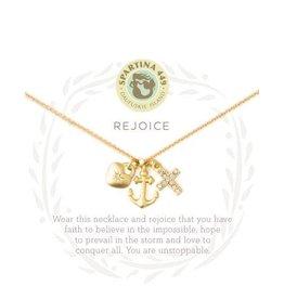 Spartina 449 Sea La Vie Rejoice Necklace - Gold