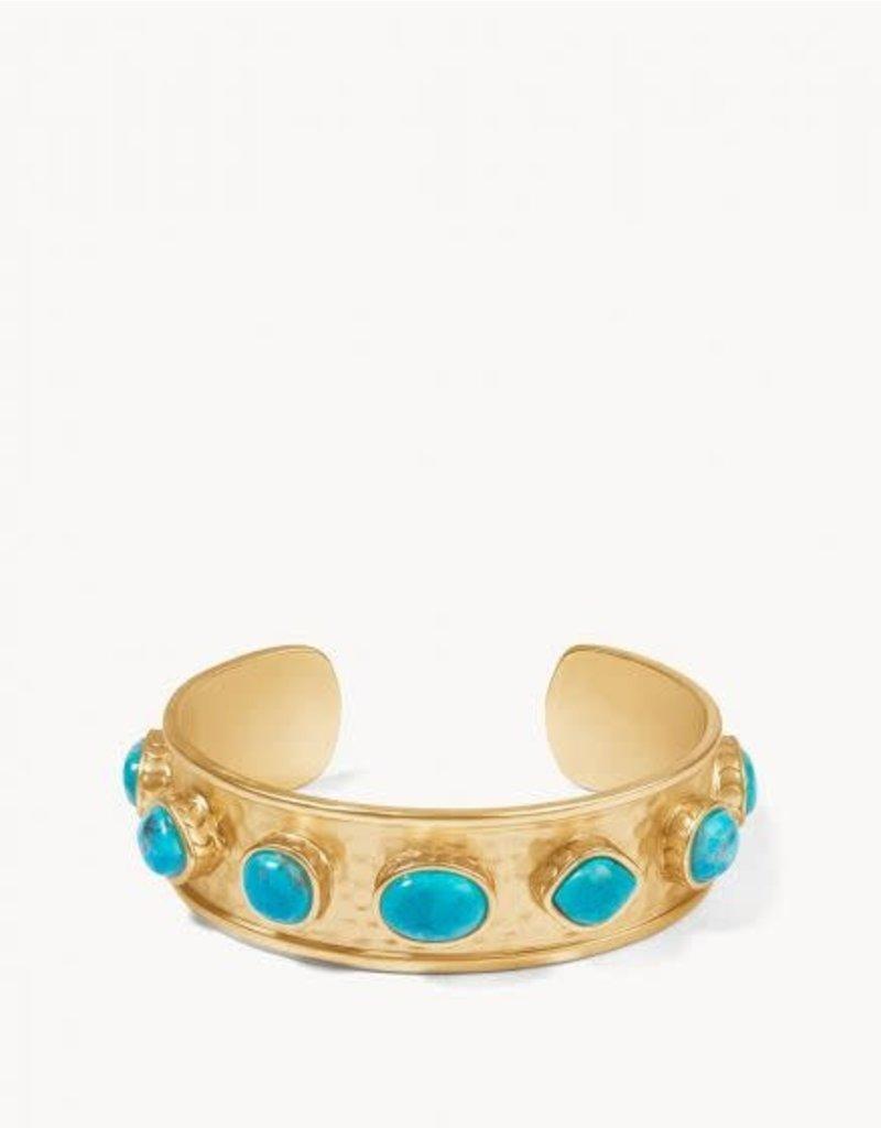 Spartina 449 Naia Statement Cuff - Gold & Turquoise