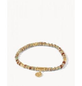 Spartina 449 Natural Stone Stretch Bracelet