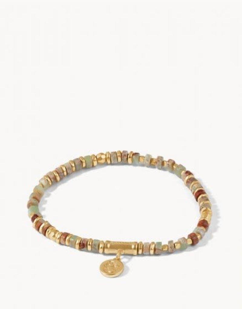 Spartina 449 Natural Stone Stretch Bracelet