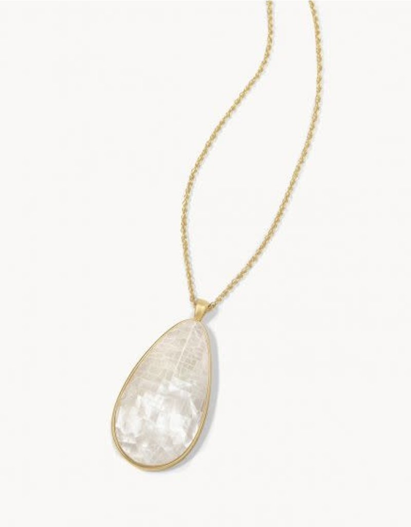 Spartina 449 Crushed Pearl Necklace - Gold