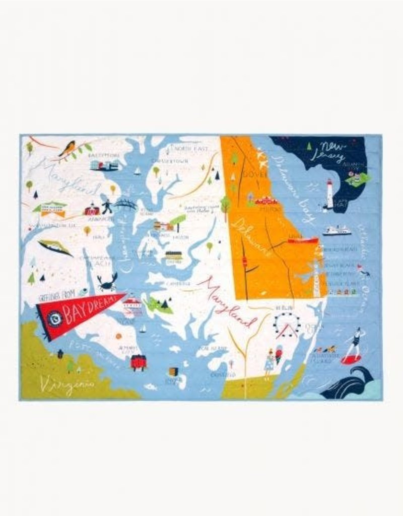 Spartina 449 Bay Dreams Quilted Throw