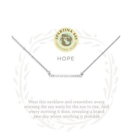 Spartina 449 Sea La Vie Hope Necklace - Silver