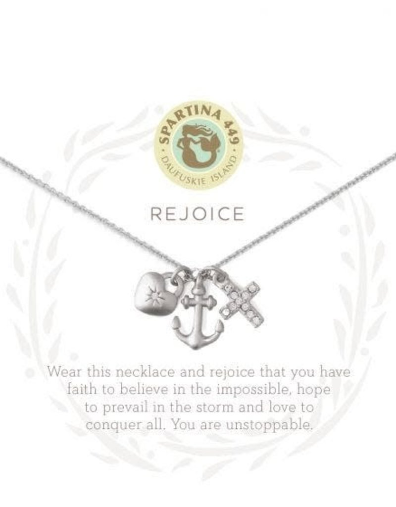 Spartina 449 Sea La Vie Rejoice Necklace - Silver
