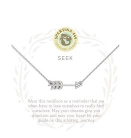 Spartina 449 Sea La Vie Seek Necklace - Silver
