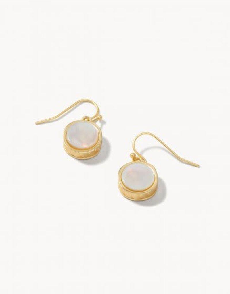 Spartina 449 Naia Petite Earrings - Gold Pearlescent