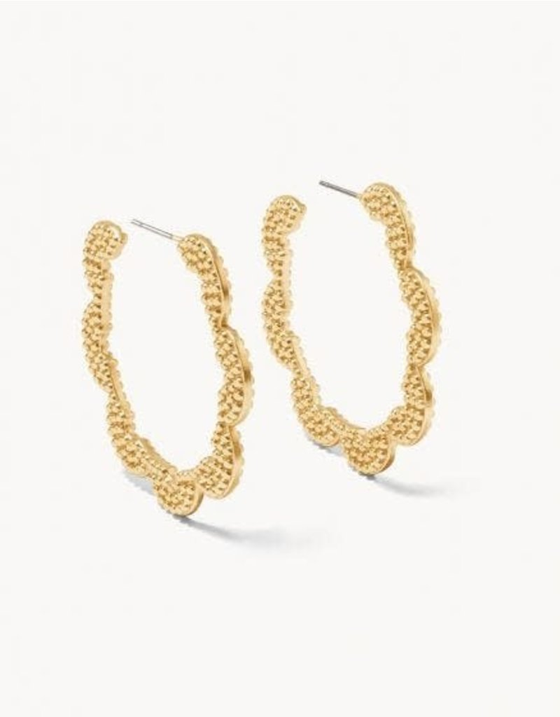 Spartina 449 Sweet & Sour Hoop Earrings - Gold
