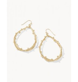 Spartina 449 Spritz Teardrop Earrings - Gold