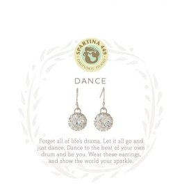 Spartina 449 Sea La Vie Dance Drop Earrings - Silver
