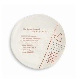 Demdaco Christmas Giving Plate