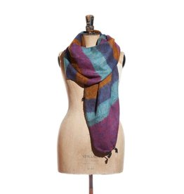 Hand Woven Scarves from Nepal - Minerals